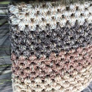 csandy creations Accessories - Handmade crochet velvet blankets